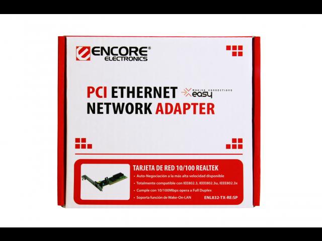 Encore ENL832-TX-RE 10//100Mbps Fast Ethernet PCI Adapter